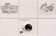 Плитка для стен кухни М-Квадрат Моноколор Кофе Микс 2 340062 (250x400, бежевый) -