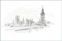 Плитка для стен ванной М-Квадрат Лондон 371508/3 (250x400) -