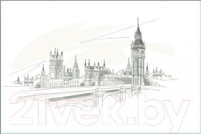 Плитка М-Квадрат Лондон 371508/3 (250x400)