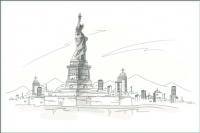 Плитка для стен кухни М-Квадрат Нью-Йорк 371508/1 (250x400) -