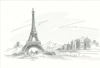 Плитка для стен кухни М-Квадрат Париж 371508/4 (250x400) -
