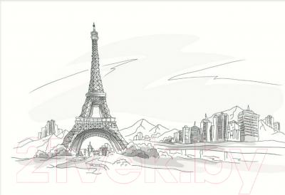 Плитка для стен кухни М-Квадрат Париж 371508/4 (250x400)