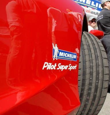 Летняя шина Michelin Pilot Super Sport 265/40R18 101Y