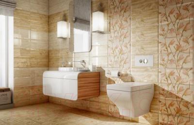 Декоративная плитка для ванной PiezaRosa Магнолия 1 366761 (200x450)