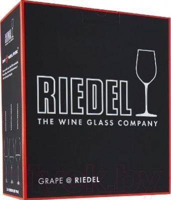 Набор бокалов для вина Riedel Grape Syrah/Shiraz (2 шт) - упаковка