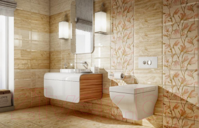 Декоративная плитка PiezaRosa Магнолия 2 366762 (250x400)