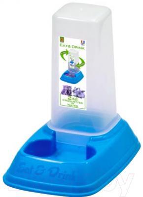 Кормушка механическая Georplast Mini Dispenser Eat & Drink 10087