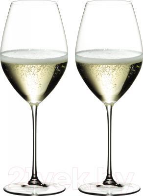 Набор бокалов для вина Riedel Veritas Champagne (2 шт)