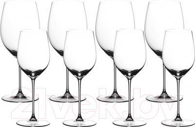 Набор бокалов для вина Riedel Veritas Cabernet/Merlot+Viognier/Chardonnay (8 шт)