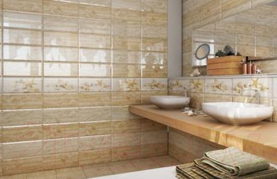 Декоративная плитка для ванной PiezaRosa Морская звезда 336761 (200x450)