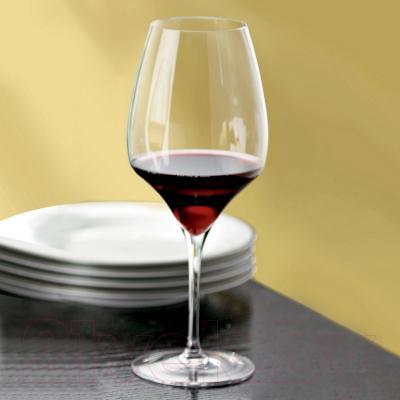 Набор бокалов для вина Riedel Vitis Syrah/Shiraz (2 шт) - посуда Riedel (пример сервировки)