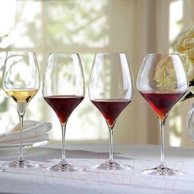 Набор бокалов для вина Riedel Vitis Pinot Noir (2 шт) - посуда Riedel (пример сервировки)