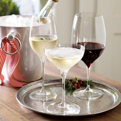 Набор бокалов для вина Riedel Vitis Riesling & Sauvignon Blanc (2 шт) - посуда Riedel (пример сервировки)