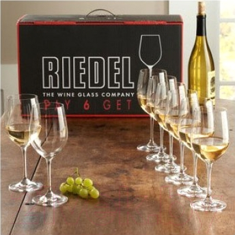 Набор бокалов для вина Riedel Vinum Chardonnay (8 шт)