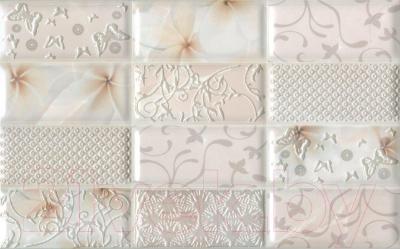 Декоративная плитка для ванной PiezaRosa Мартиника 1 346441 (250x400, розовый)