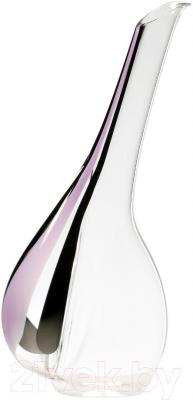 Декантер для вина Riedel Black Tie Touch Stripe Pink