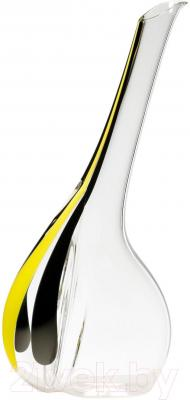 Декантер для вина Riedel Black Tie Touch Stripe Yellow