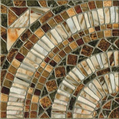Декоративная плитка PiezaRosa Мюнхен 725962 (330x330, коричневый)