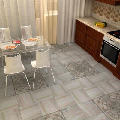 Декоративная  плитка для пола PiezaRosa Мозаичный Олива 725322 (330x330, зеленый)