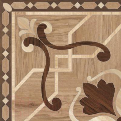 Плитка для пола PiezaRosa Августо Паркет 732462 (450x450, бежевый)