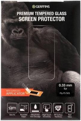 Защитное стекло для телефона Gerffins 611790 (0.33мм, для FS501)