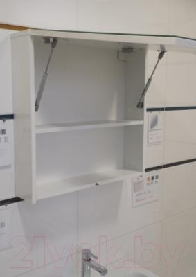 Шкаф с зеркалом для ванной Cersanit Colour 60 / S571-026 - вид спереди 1