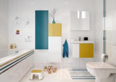 Шкаф с зеркалом для ванной Cersanit Colour 60 / S571-026 - в интерьере 3