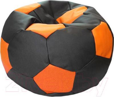 Бескаркасное кресло Flagman Мяч Стандарт М1.3-1620 (оранжевый/черный)