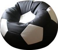 Бескаркасное кресло Flagman Мяч Стандарт М1.3-1610 (черный/белый) -