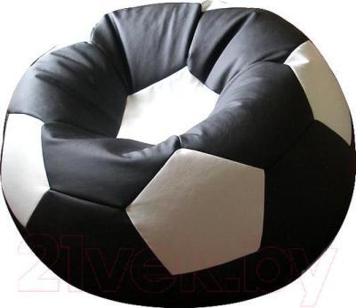 Бескаркасное кресло Flagman Мяч Стандарт М1.3-1610 (черный/белый)