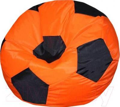 Бескаркасное кресло Flagman Мяч Стандарт М1.1-06 (оранжевый/черный)