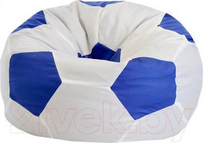Бескаркасное кресло Flagman Мяч Стандарт М1.1-11 (белый/синий)