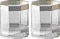 Набор бокалов для виски Rosenthal Versace/Medusa d'Or (2 шт) -