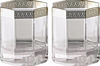 Набор бокалов для виски Rosenthal Versace/Medusa d'Or (2 шт)