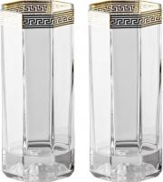 Набор бокалов для коктейлей Rosenthal Versace/Medusa d'Or (2 шт) -