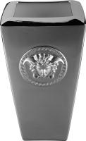 Ваза настольная Rosenthal Versace Medusa Platin (24 см) -