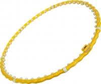 Обруч хула-хуп Torneo A-101MY (желтый) -
