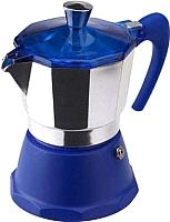 Гейзерная кофеварка G.A.T. Fantasia colori 1060.09 (голубой) -