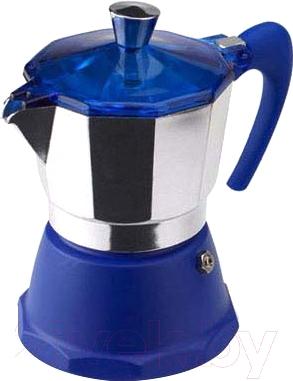 Гейзерная кофеварка G.A.T. Fantasia colori 1060.09 (голубой)