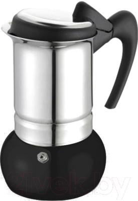 Гейзерная кофеварка G.A.T. Thema 2610.06 (черный)