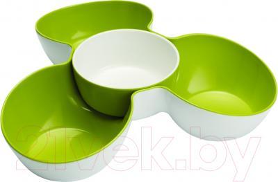Блюдо для снеков Joseph Joseph Triple Dish Set 70071