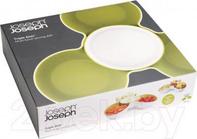 Блюдо для снеков Joseph Joseph Triple Dish Set 70071 - вид снизу