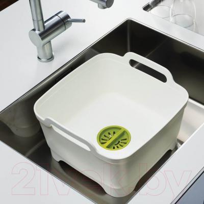 Кухонные принадлежности Joseph Joseph Wash&Drain Bowl 85055 (зеленый) - пример использования