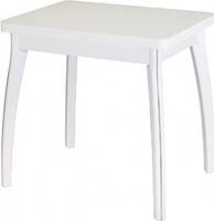 Обеденный стол Домотека Чинзано М2 60x80 (белый) -