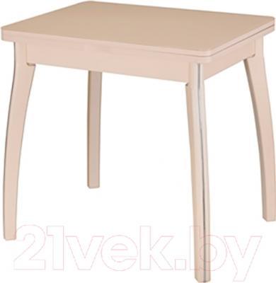 Обеденный стол Домотека Чинзано М2 60х80 (кремовый)