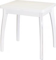 Обеденный стол Домотека Реал М-2 КМ 56x76 (белый) -