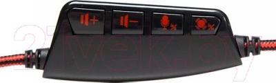 Наушники-гарнитура Marvo ASH-721 - регулятор громкости