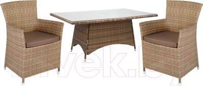 Комплект садовой мебели Garden4you Wicker 13332/61 (капуччино)