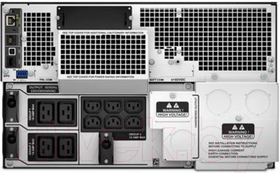 ИБП APC Smart-UPS SRT 2200VA RM 230V (SRT2200RMXLI) - вид сзади