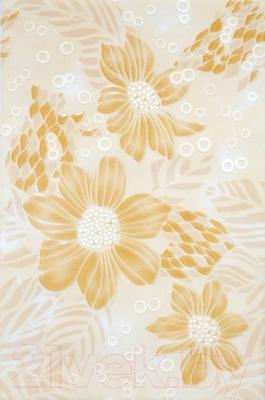 Декоративная плитка НЗКМ Георгин (200x300, песочный)